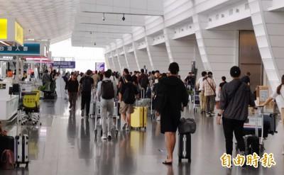 國慶連假疏運今起上路 桃機估13日旅客逾14萬人次