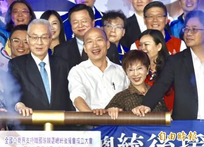 洪秀柱:不下架民進黨 今日香港明日台灣