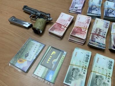 型男主廚賭掉前途 持玩具槍搶銀行重判7年8月