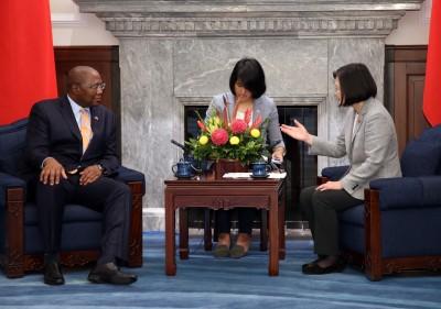 非洲友邦史瓦帝尼總理來訪 蔡總統感謝支持台灣