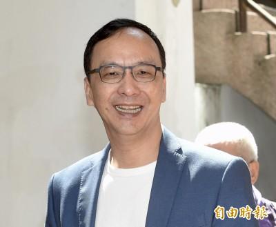朱立倫雙十發文 談中共集權、香港爭普選承擔代價