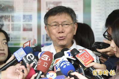 小英稱兩岸關係只有國家利益 柯:關係不好符合台灣利益嗎