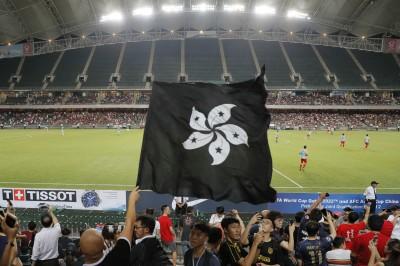 港人世足資格賽場邊噓中國國歌 FIFA開罰了!