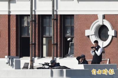 國慶維安滴水不漏   府區制高點部署狙擊手防止突擊