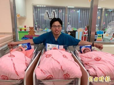 每月誕生百名寶寶 3男寶寶搶在國慶日凌晨出生