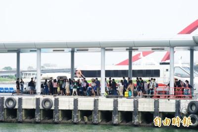 東琉航線班班滿 下午團客「還塞在國道上」!