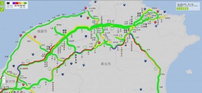國慶連假首日國道就多處塞車「紫爆」 5地雷路段要注意