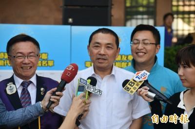 傳選前兩個月輔選韓國瑜 侯友宜:先專心面對總質詢