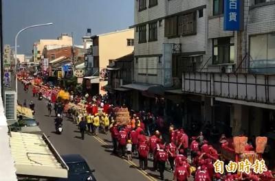 彰化媽祖文化節 13家宮廟熱鬧踩街登場