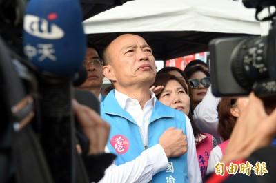 韓粉又灌票?韓國瑜民調再創新高94.44%