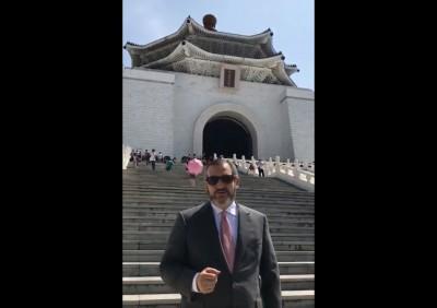 跟台灣站在一起!美議員拍片賀國慶 讚台對抗中國