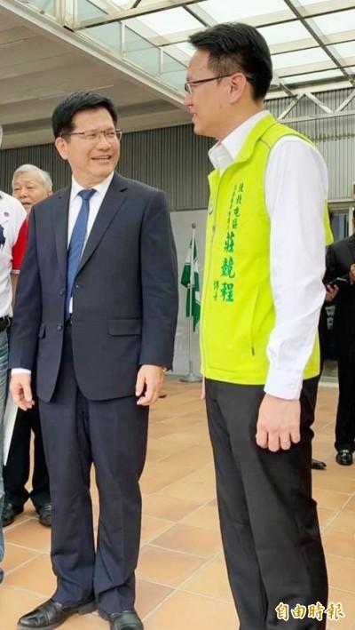 有信心逆轉勝 莊競程邀林佳龍擔任競總主委
