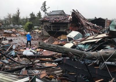 61年來最強!哈吉貝颱風重創日本 已35死17失蹤