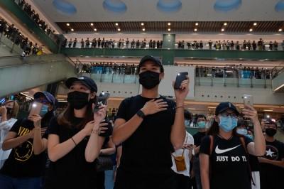 香港人反抗》集會前一刻 港警新增:須提醒參與者守《禁蒙面法》
