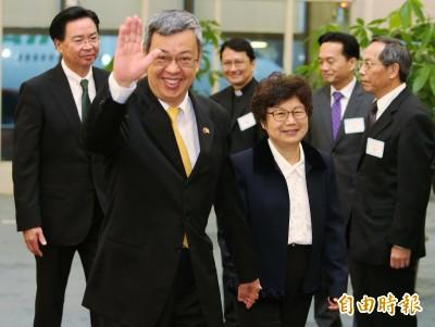 陳建仁返台:已代表總統邀請教宗來台牧靈之旅的請求