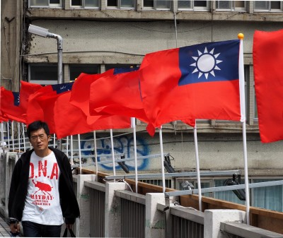 勇!台灣人在南京中山陵亮國旗 遭中國警方拘留過程曝光