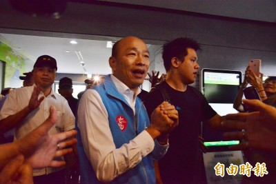 確定放韓假!高雄市長韓國瑜宣布請假 明起投入總統大選