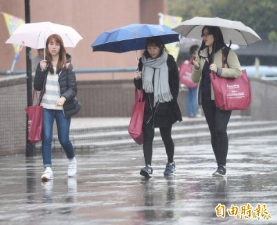東北風增強! 北台灣明下探21度 濕涼有雨到週末