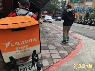 外送又釀1死!Lalamove外送員撞死違規穿越路口行人