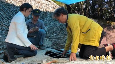 影音》莫那.魯道之墓塌陷漏水 遺族跪查:印證祖靈托夢是真的