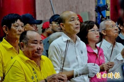 韓國瑜琉球夜話鄉親開講 李四川回鄉助陣