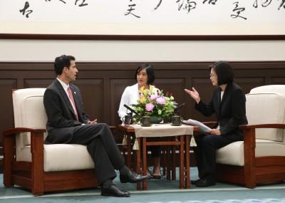 蔡英文:一國兩制永遠不是台灣人民選項