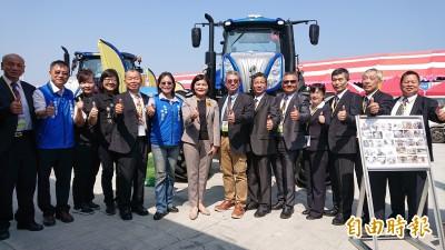 掃地機器人不稀奇還有除草機器人 全國最大農機展千萬農機亮相