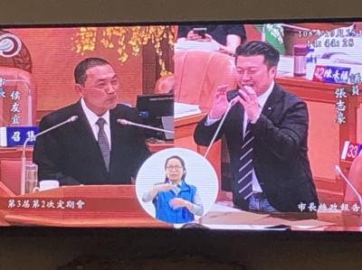 韓國瑜嗆做不好領導者「一頭撞死」 侯友宜:我一定先檢討自己