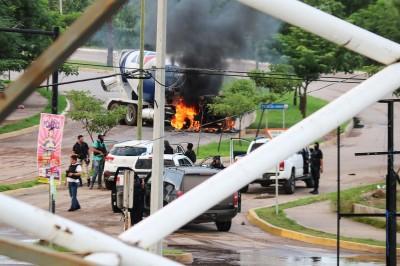 墨西哥逮捕毒梟兒子後槍聲連連 為救安全部隊性命只得放人