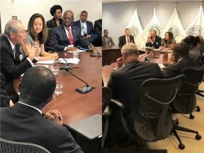 高碩泰與美官員會議 美國務院推文:台灣是可靠夥伴