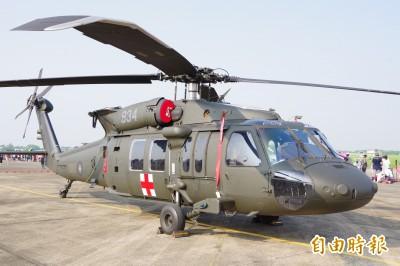 空軍強化5架黑鷹救護機搜救能力  砸近20億構改加買裝備