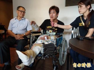 「甩棍插入粉碎腳踝...」直播主吳小哲控遭凌虐過程