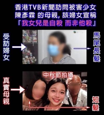 香港人反抗》撲朔迷離!頭髮長超快?陳彥霖母親是假的?