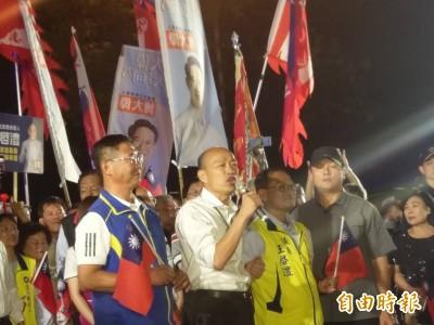 「人太多走不進去」韓國瑜訪嘉義文化路夜市只走約20分鐘