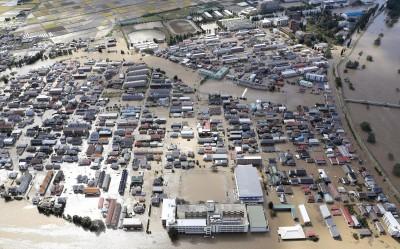 哈吉貝颱風重創日本 已釀79死396傷