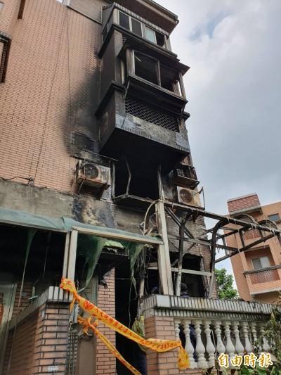 鳳鳴國小校長夫妻命喪火窟 消防研判一樓客廳起火