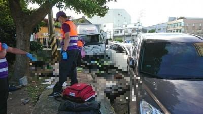 物流司機喝保力達撞死3人 檢起訴最重可判10年