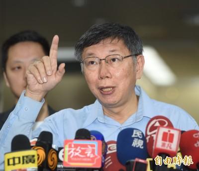 與上海市台辦李文輝會面談什麼? 柯:錢要花完才能回去