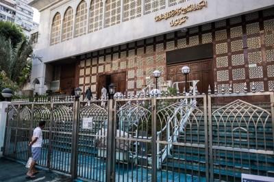 港警「藍水砲」攻擊清真寺  穆斯林青年:喪盡天良!