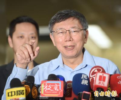 韓國瑜回酸「陳年老醋工廠老闆」 柯:我是覺得他很可惜啦