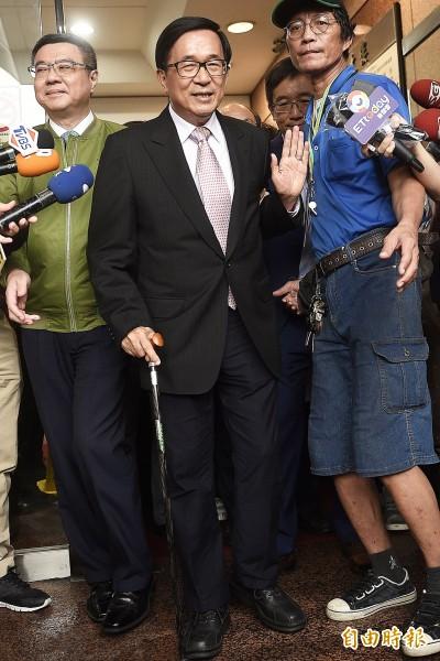 力挺一邊一國行動黨 陳水扁:您忍心看阿扁從地球上消失嗎?