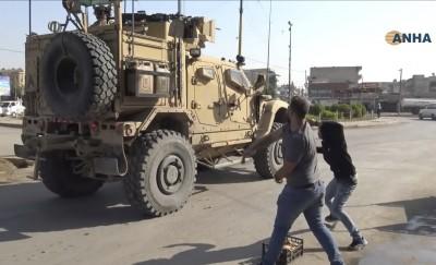 背棄盟友 美軍撤離敘北遭庫德族怒丟腐爛蔬果