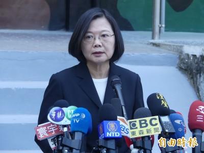 陳同佳案》蔡總統:只有逮捕沒有自首、港府不要迴避