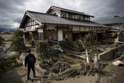 日本哈吉貝風災死亡人數上升至84人 仍有9人失蹤