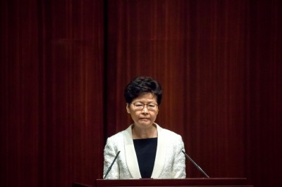 中國計畫撤換林鄭!金融時報:明年3月前臨時特首接替