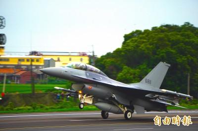 升級與採購F-16V  嚴德發:和美談17項工合