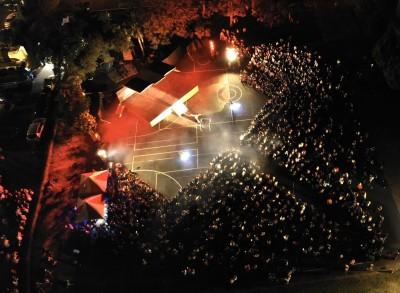 火舞團草屯演出 3000人擠滿會場觀賞
