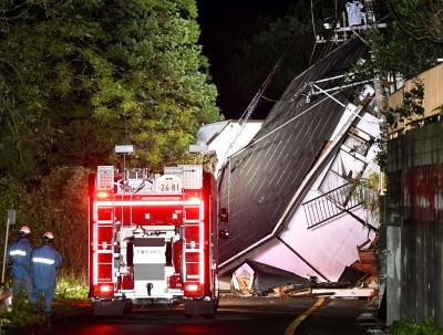 日本暴雨侵襲成災 10人死亡3人失蹤