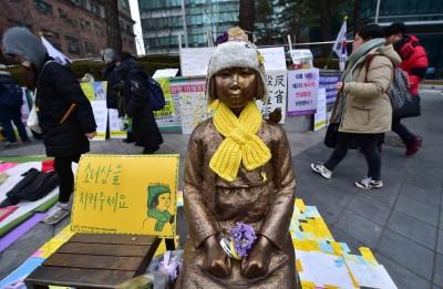 韓裔美人團體 在美設置全美第5座慰安婦像