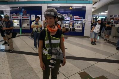 港警無理扣留女記者7小時! 香港記協強烈譴責